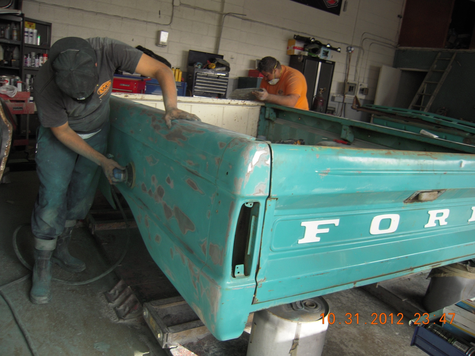 west-coast-body-and-paint-1966-ford-f100-green-white-18